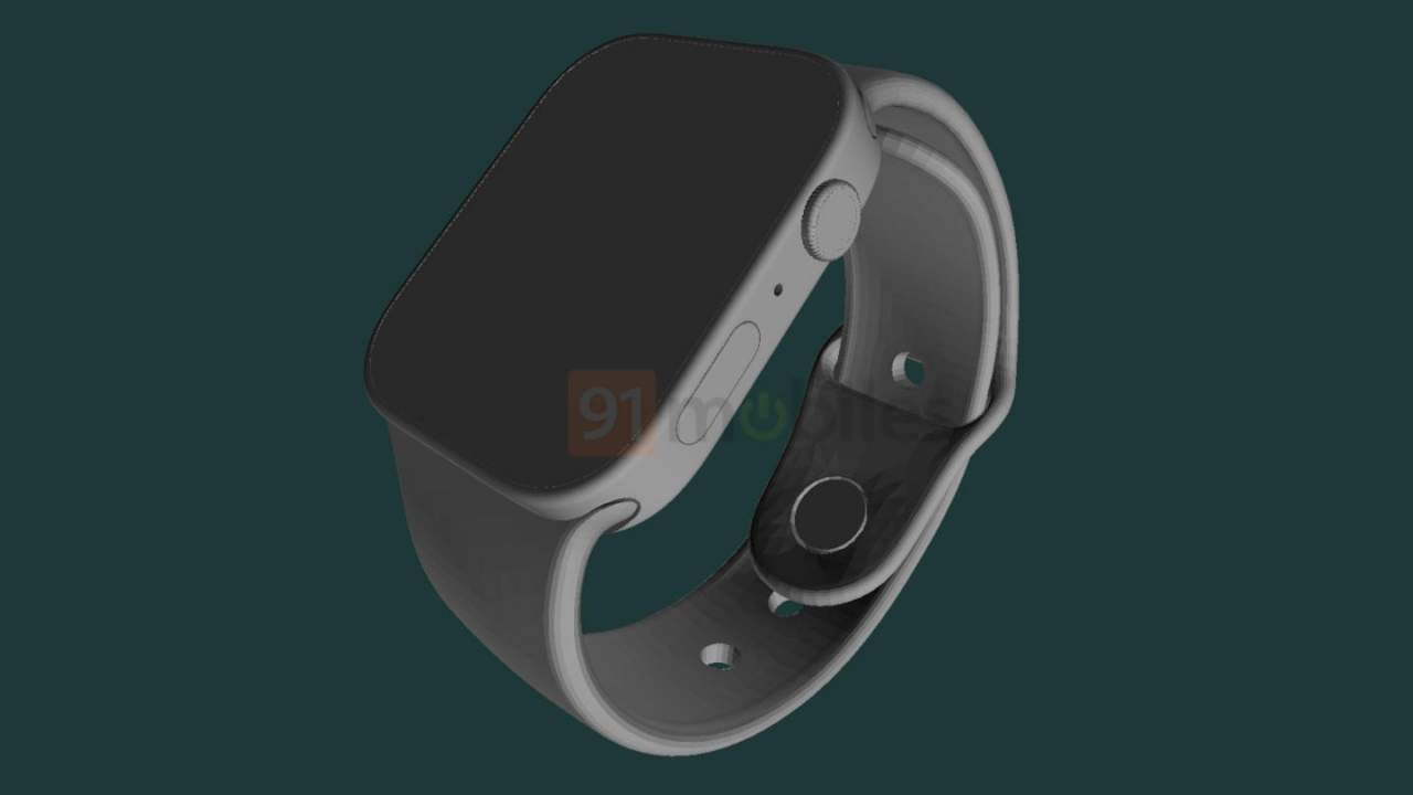 Apple Watch Series 7 renders point to a big design change