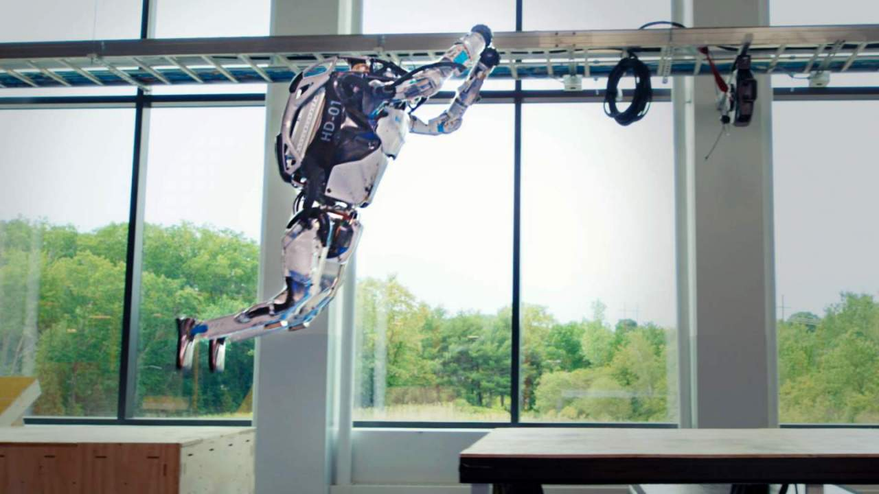 Boston Dynamics' latest robot parkour demo is more than just bragging