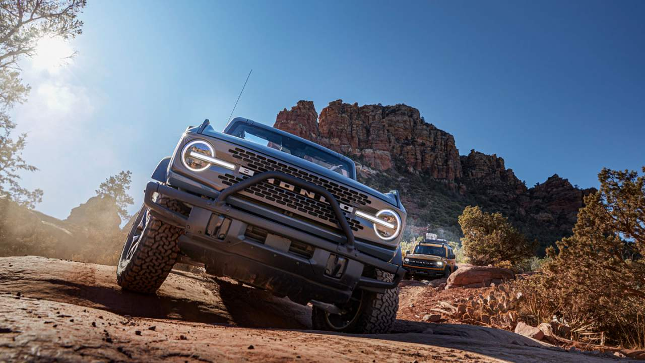 Ford brags on Bronco HOSS suspension system