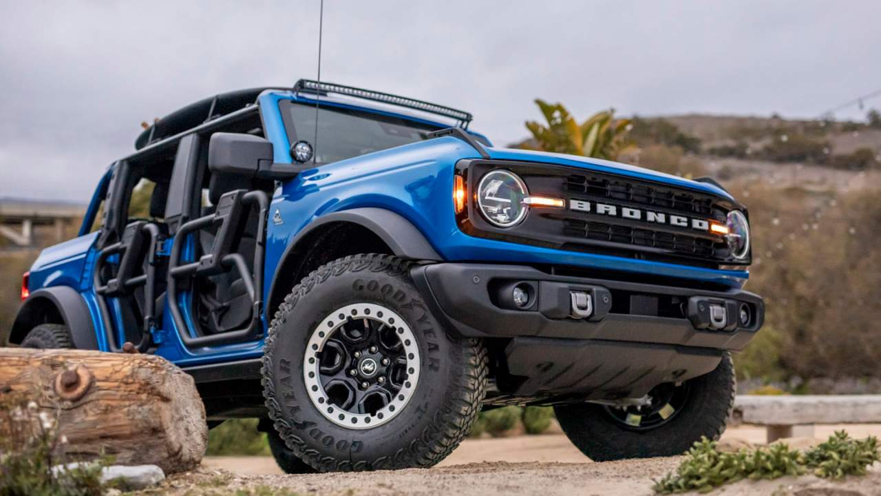 Bronco Riptide Concept highlights accessories available for the SUV
