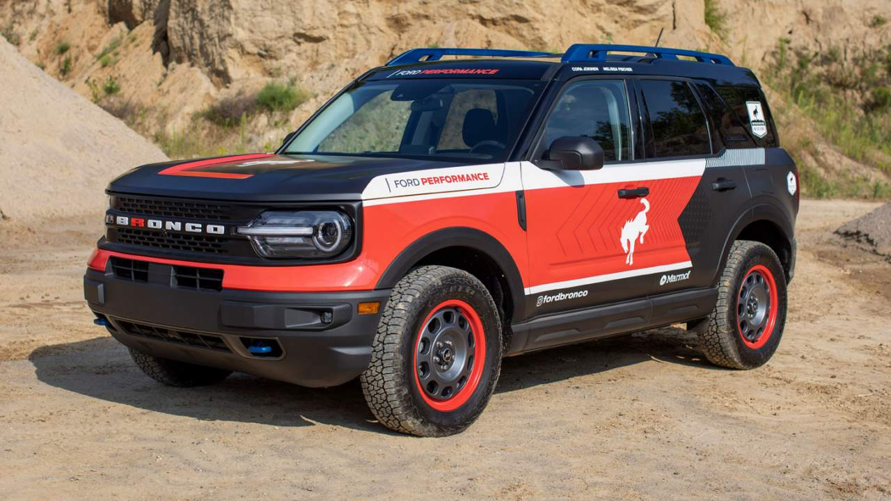 Ford fields multiple Bronco models in the 2021 Rebelle Rally
