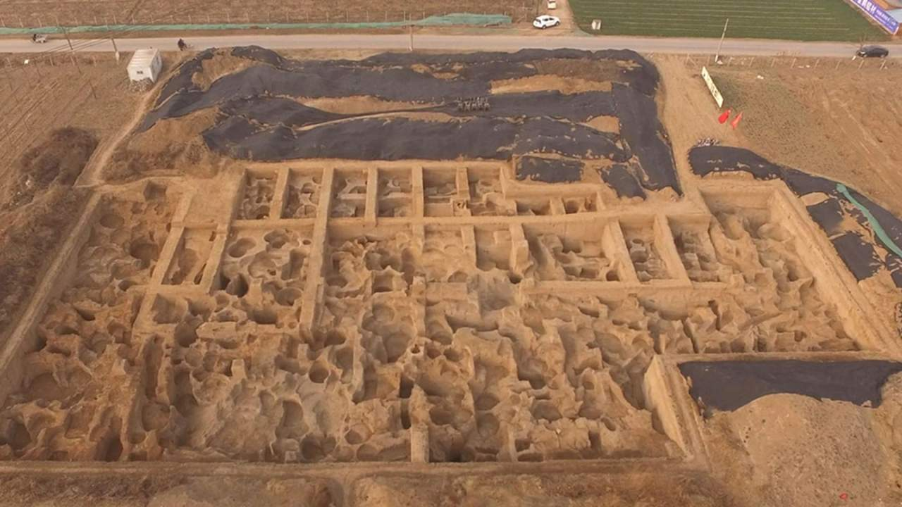 2600-year-old mint discovered China