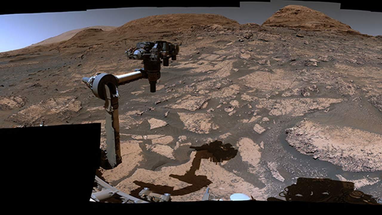 NASA highlights the changing Martian environment Curiosity is exploring