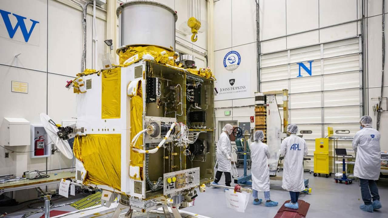 NASA's DART spacecraft moves closer to launch