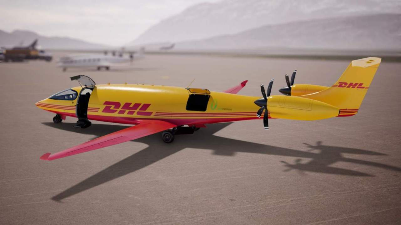 DHL just ordered 12 all-electric aircraft: Here's why that's a big deal