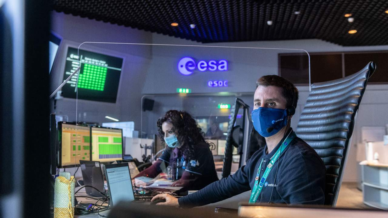 ESA conducts its first test of the European Ground System – Common Core software