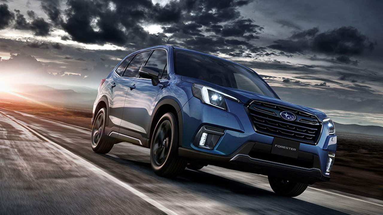 Subaru reveals an updated Forester for Japanese consumers