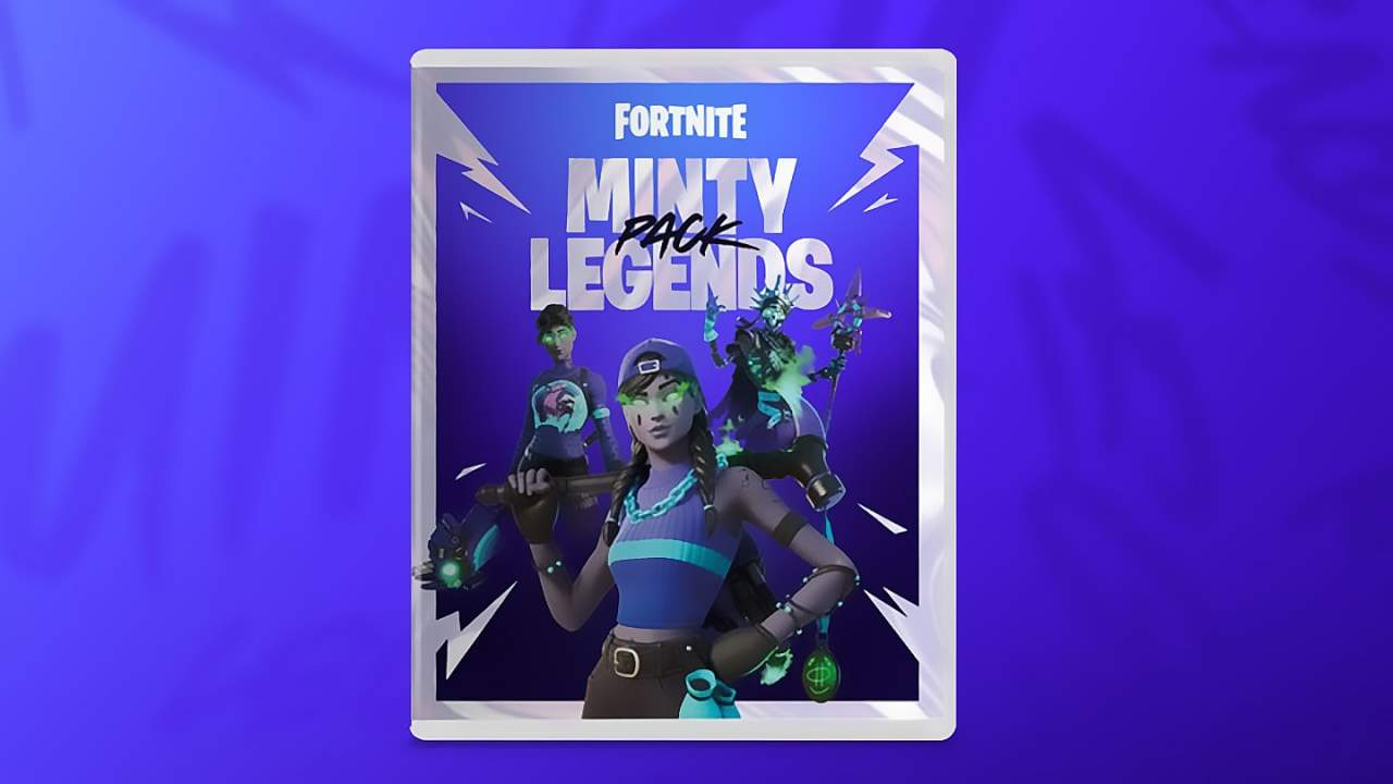 Fortnite Minty Legends Pack winter skins revealed months early