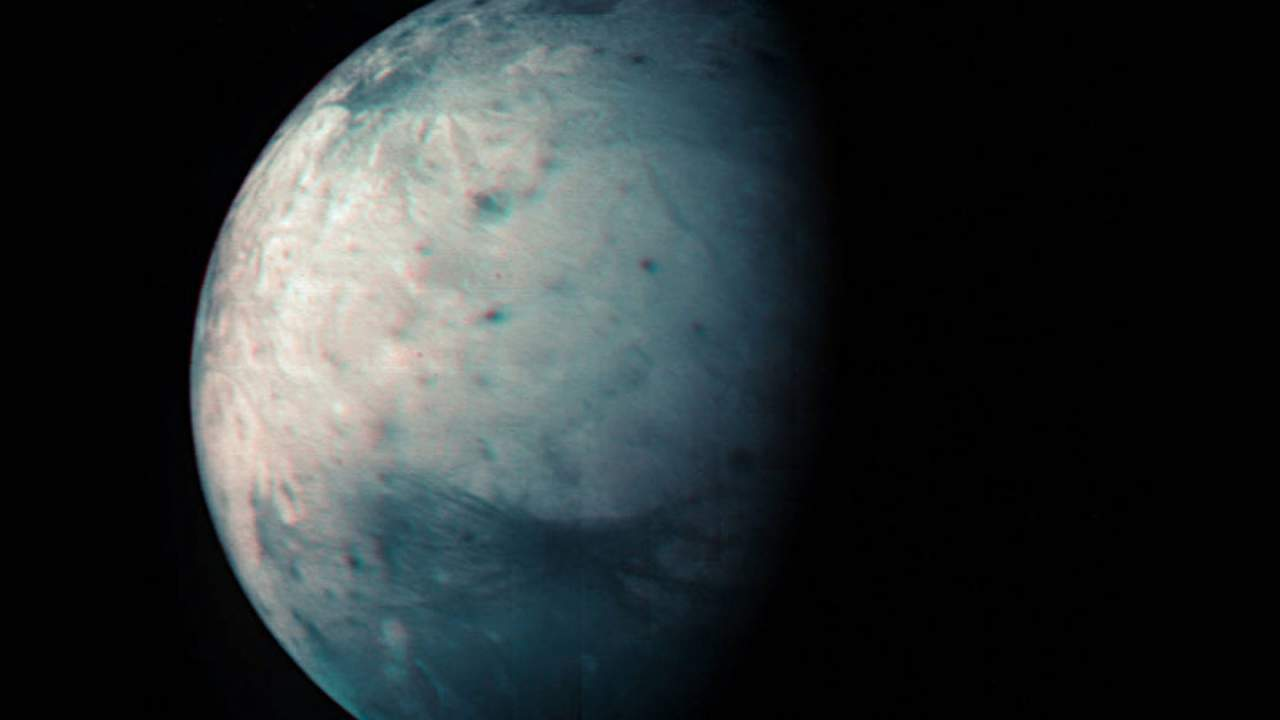 Juno's beautiful view of Ganymede is a tenth birthday gift to us all
