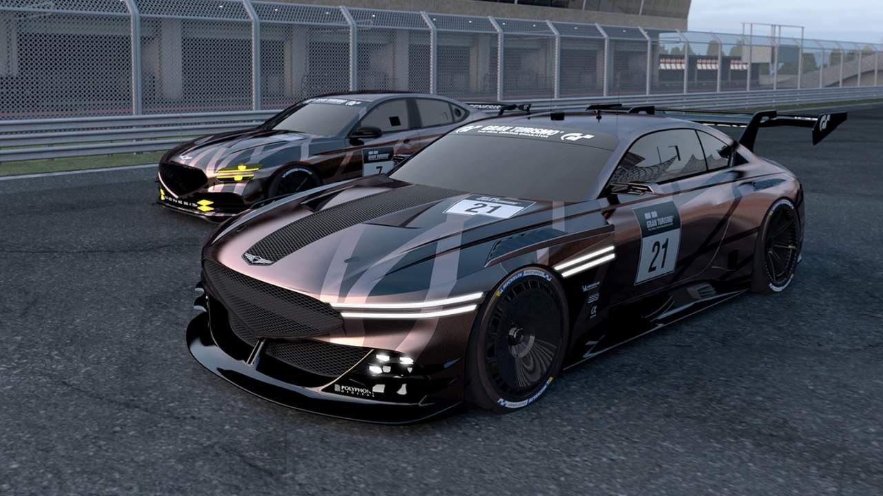 Genesis reveals new Gran Turismo race car concepts