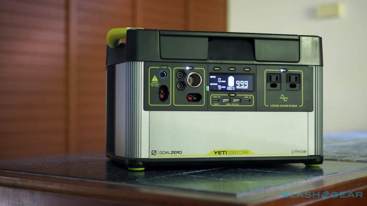 Goal Zero Yeti 1000 Core Review: A fridge-saving battery for outage season