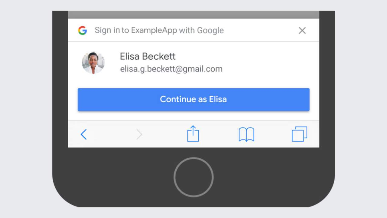 Google sign-in on third-party websites will soon be easier