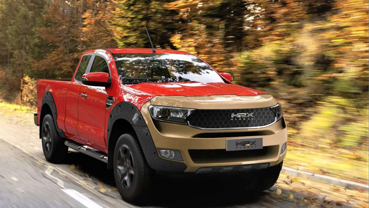 H2X Global Warrego is a hydrogen-powered Ford Ranger