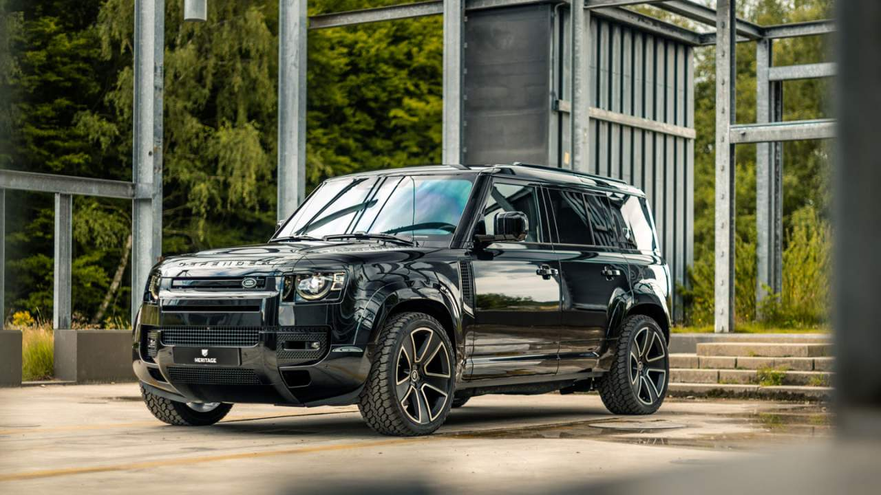 One-Off Heritage Customs Valiance takes the new Defender to the extreme