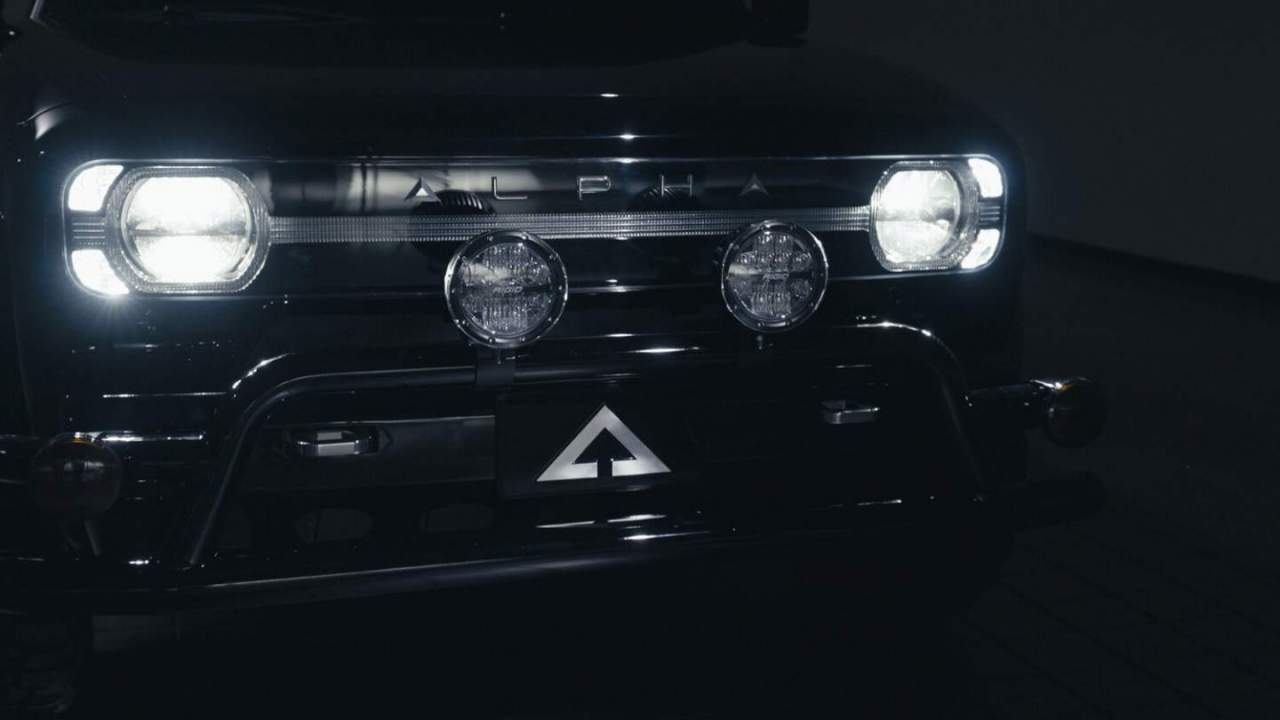 Alpha Wolf electric pickup truck debuts at The Petersen Automotive Museum