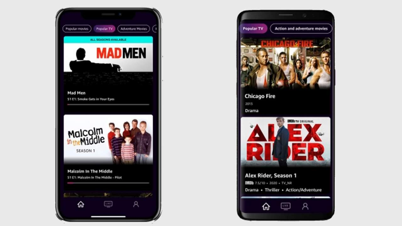 IMDb TV streaming content debuts on Apple and Android devices