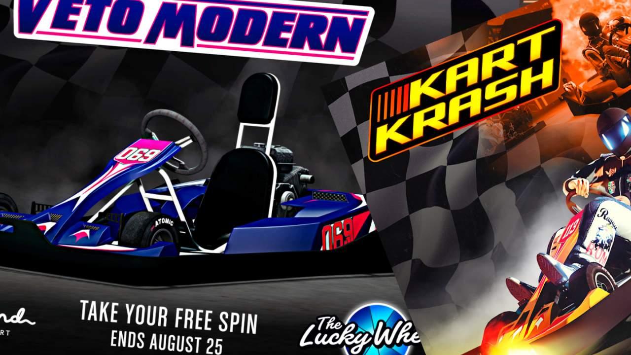 GTA Online adds Go-kart battle Kart Krash: Full Auto in latest update