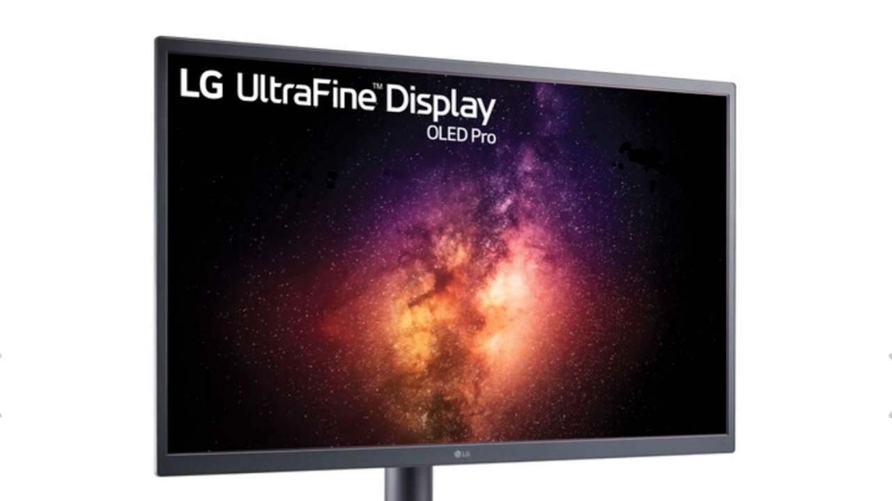LG's UltraFine 31.5-inch 4K HDR OLED hits pre-order