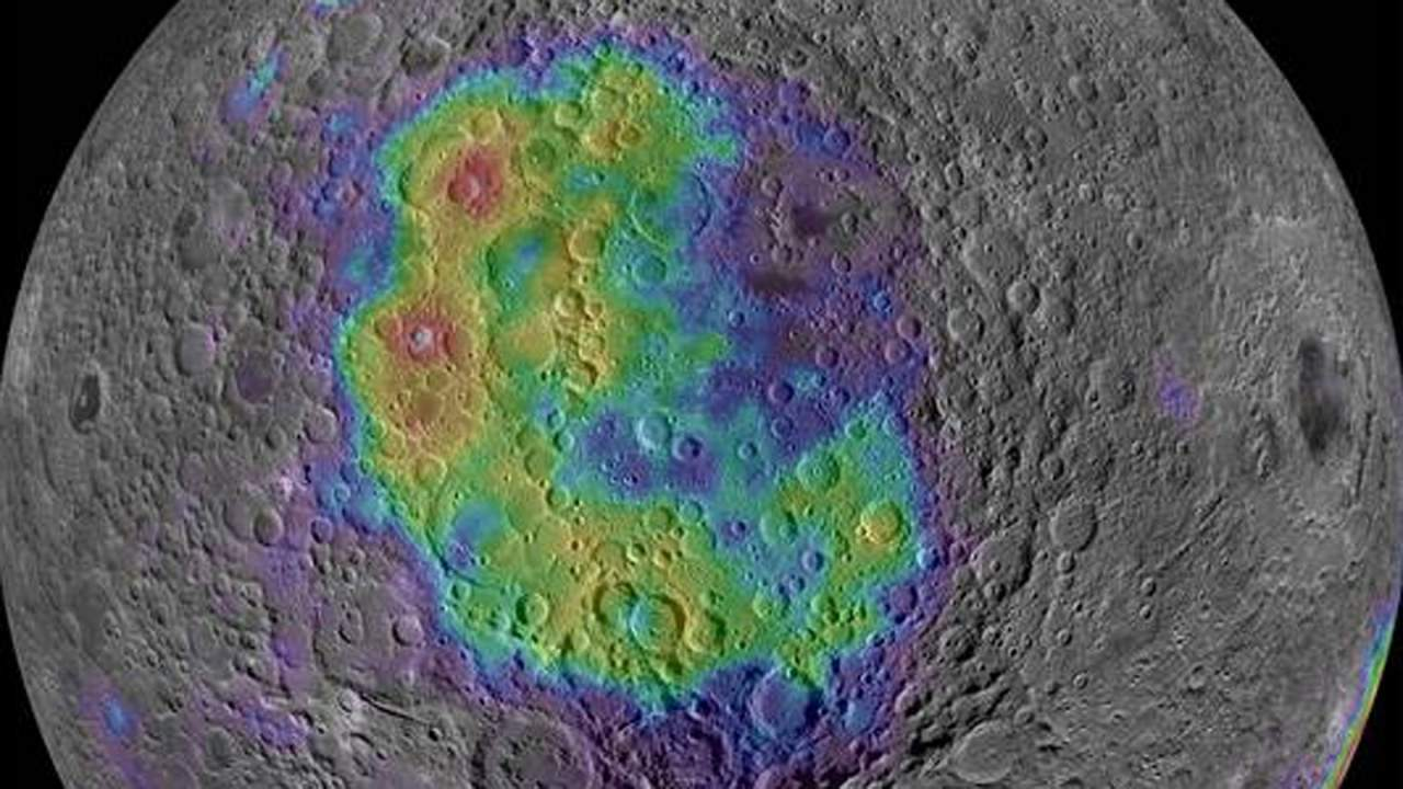 NASA has identified the most likely location to find mantle on the surface of the moon