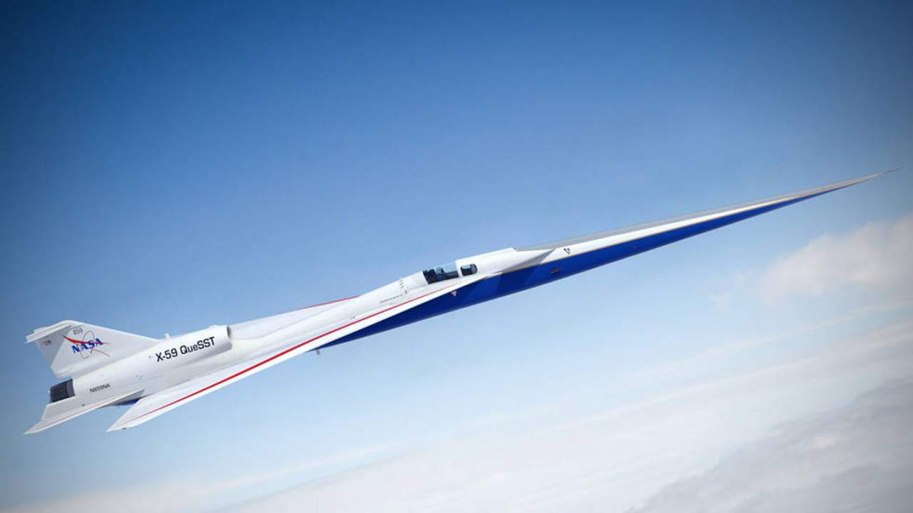 NASA's X-59 prototype gets closer to flight