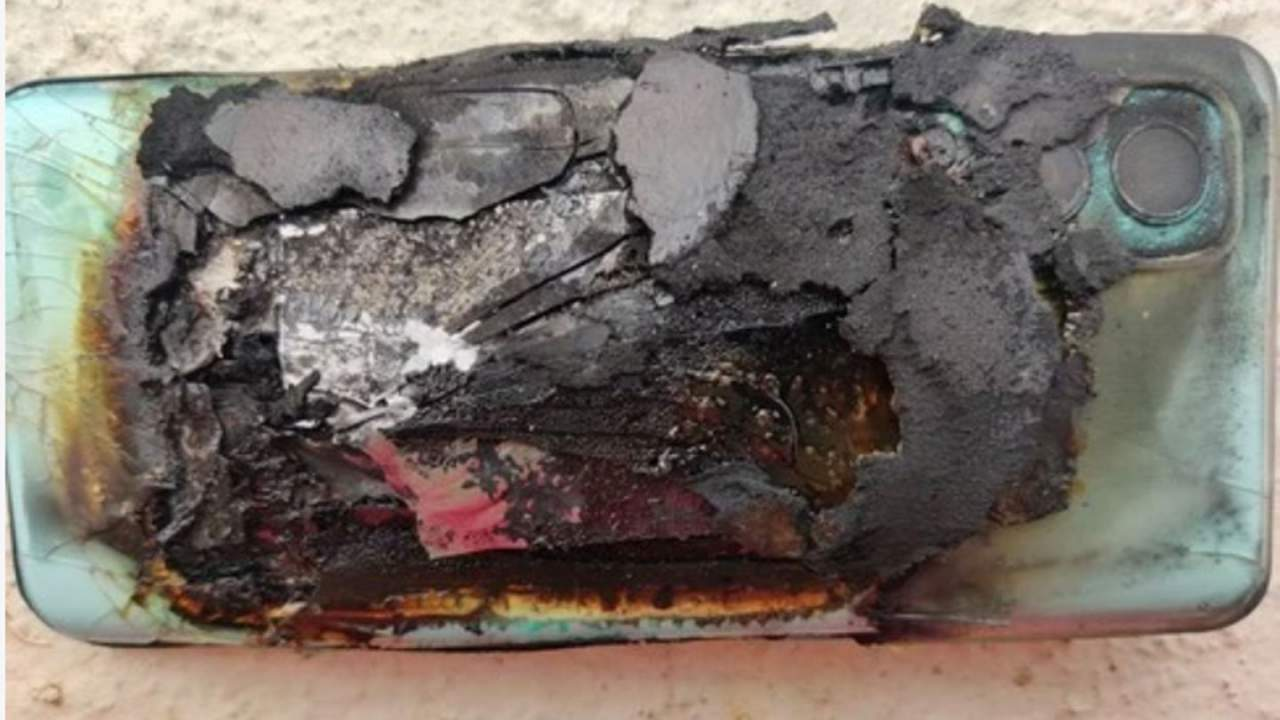 OnePlus Nord 2 owner claims new phone burst into flames