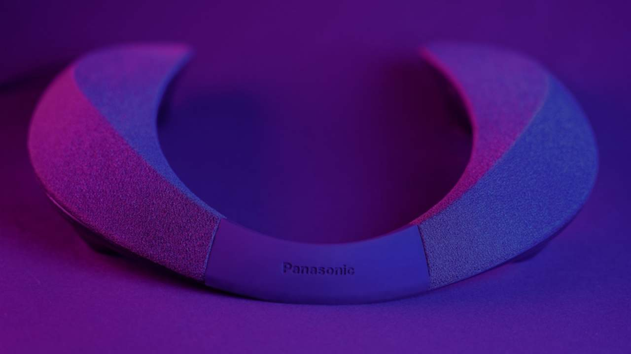 Panasonic SoundSlayer is a wearable speaker necklace made for gamers