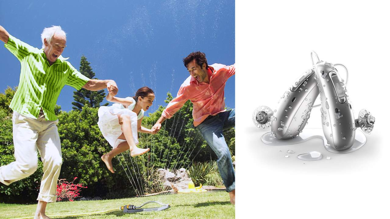 Phonak Audéo Life hearing aids are first to be both rechargeable and waterproof