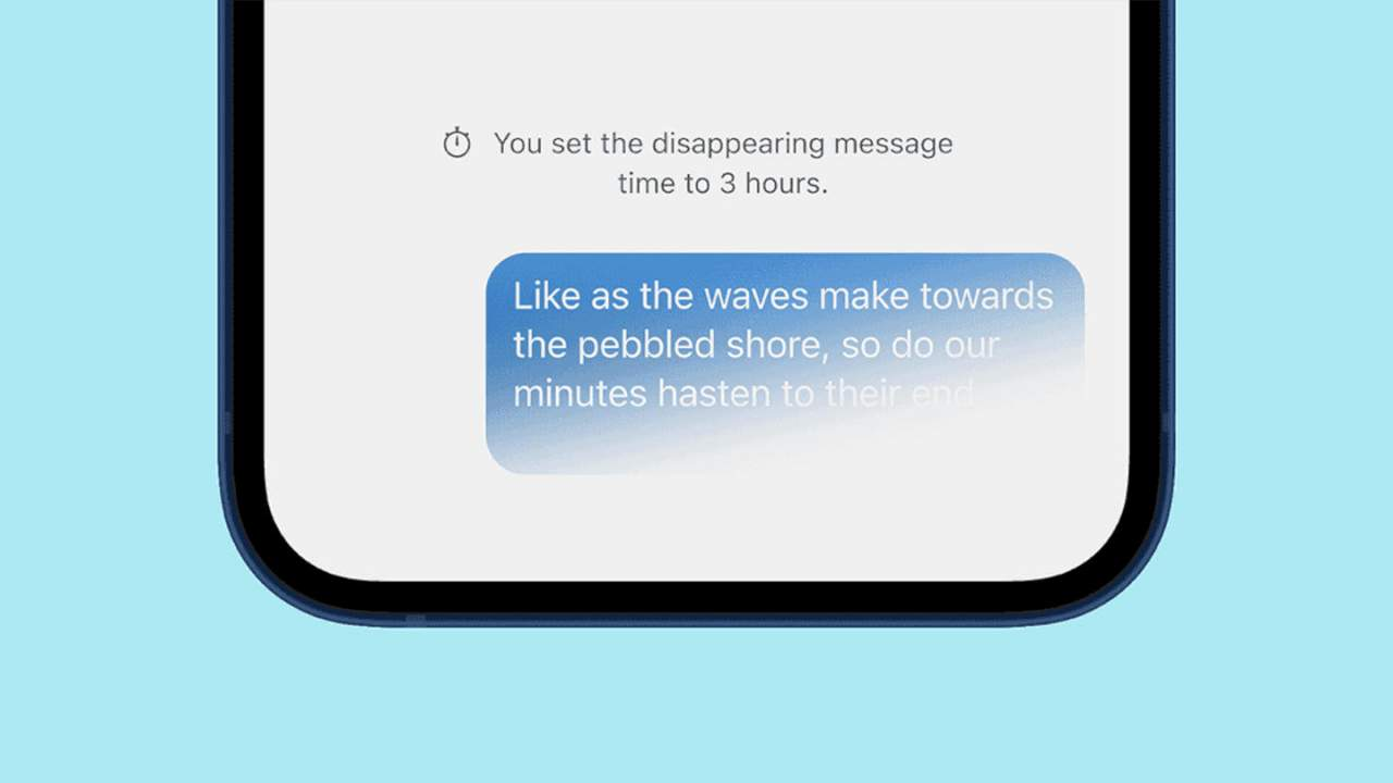 Signal disappearing messages can now be the default for new chats