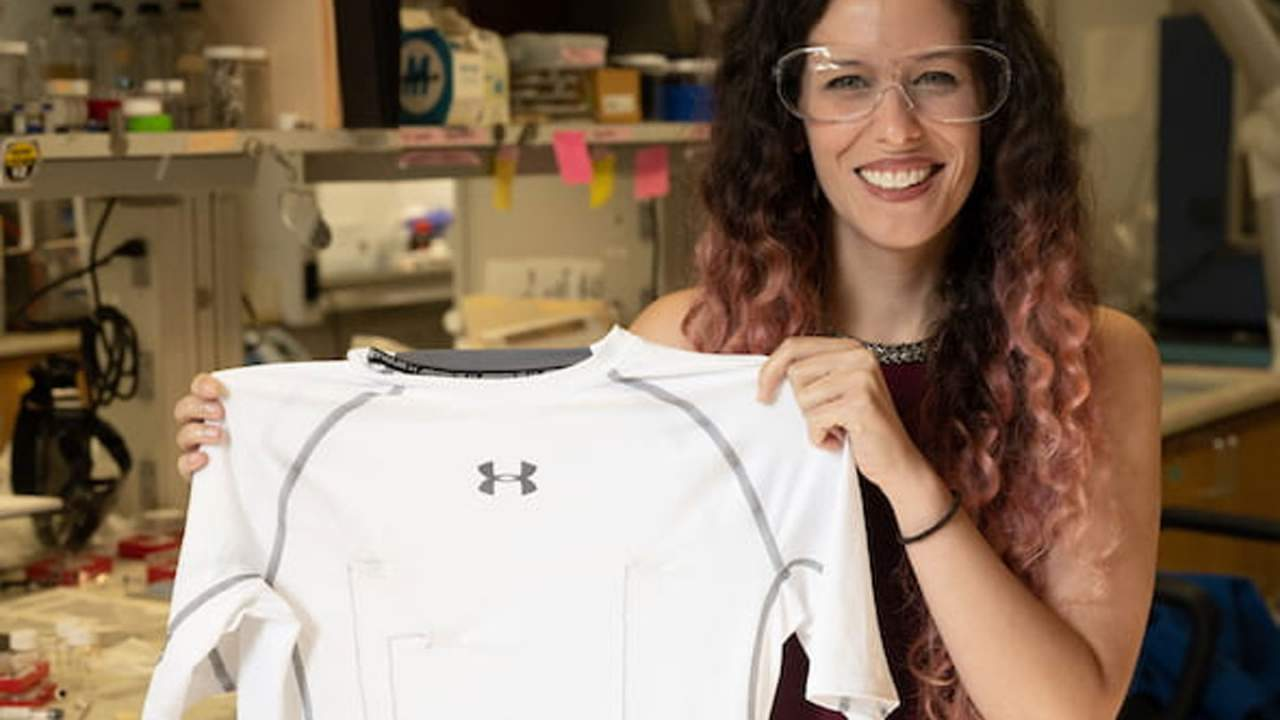 Rice University researchers create a shirt that monitors the heart