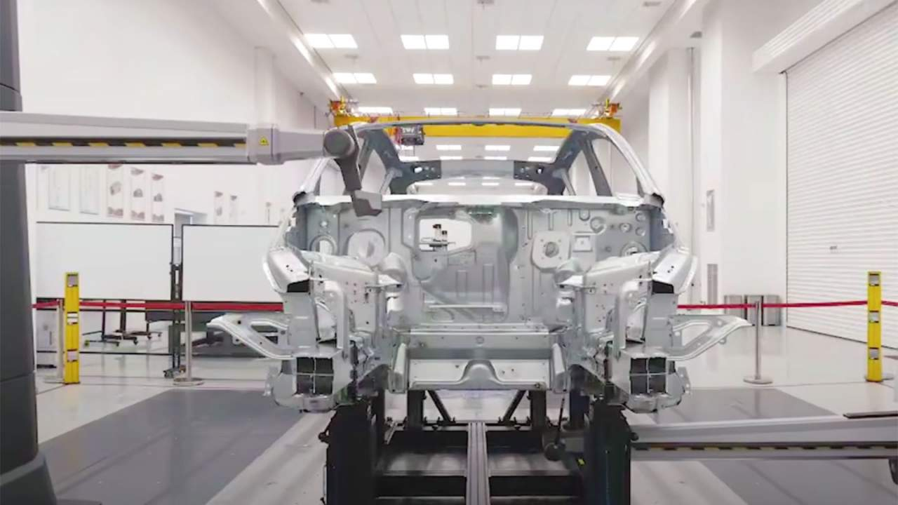 Tesla videos show the inside of its Shanghai manufacturing facility