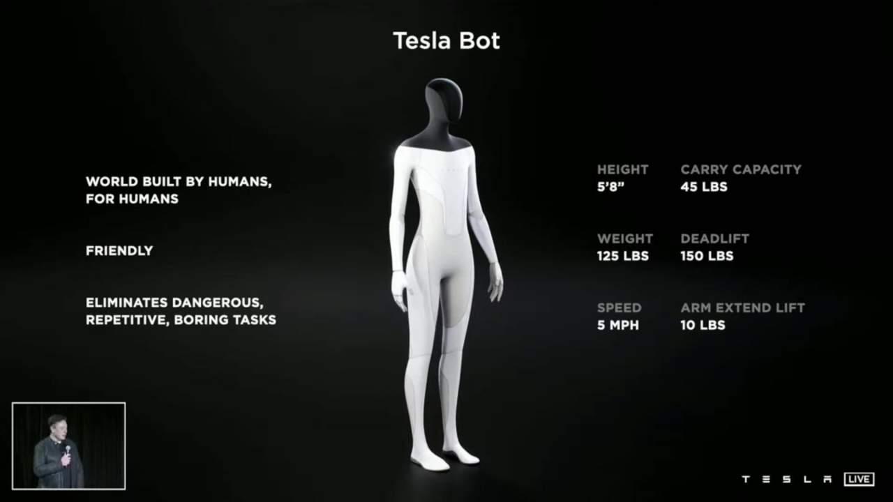 Tesla Bot humanoid robot is Elon Musk's latest obsession