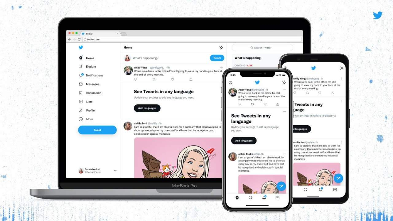 Twitter's latest redesign brings new font, high contrast, and less clutter