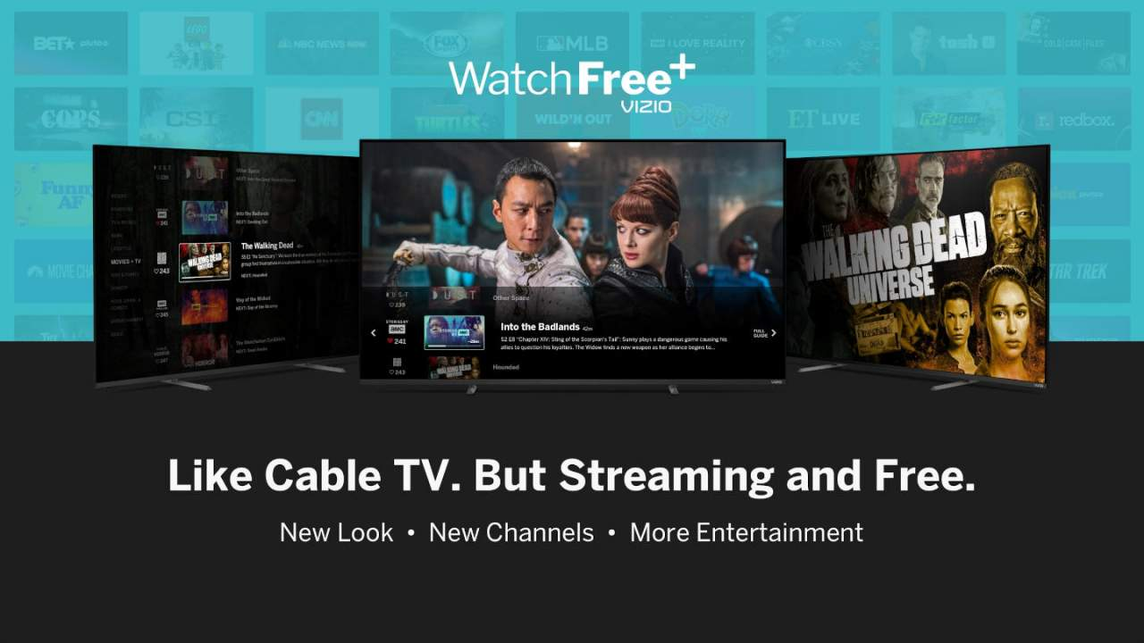Vizio WatchFree+ free streaming adds new channels, curated content