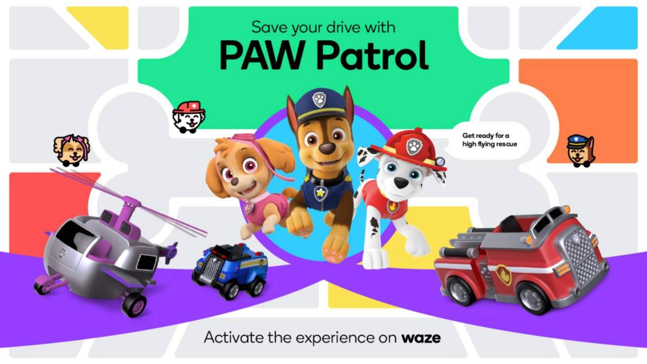 Waze adds PAW Patrol navigation experience: How to enable it