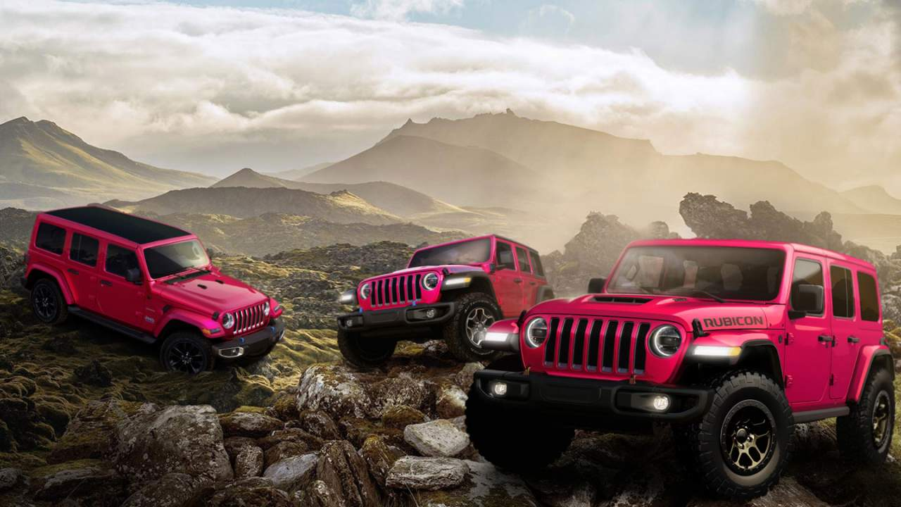 Tuscadero paint is now available on the Jeep Wrangler