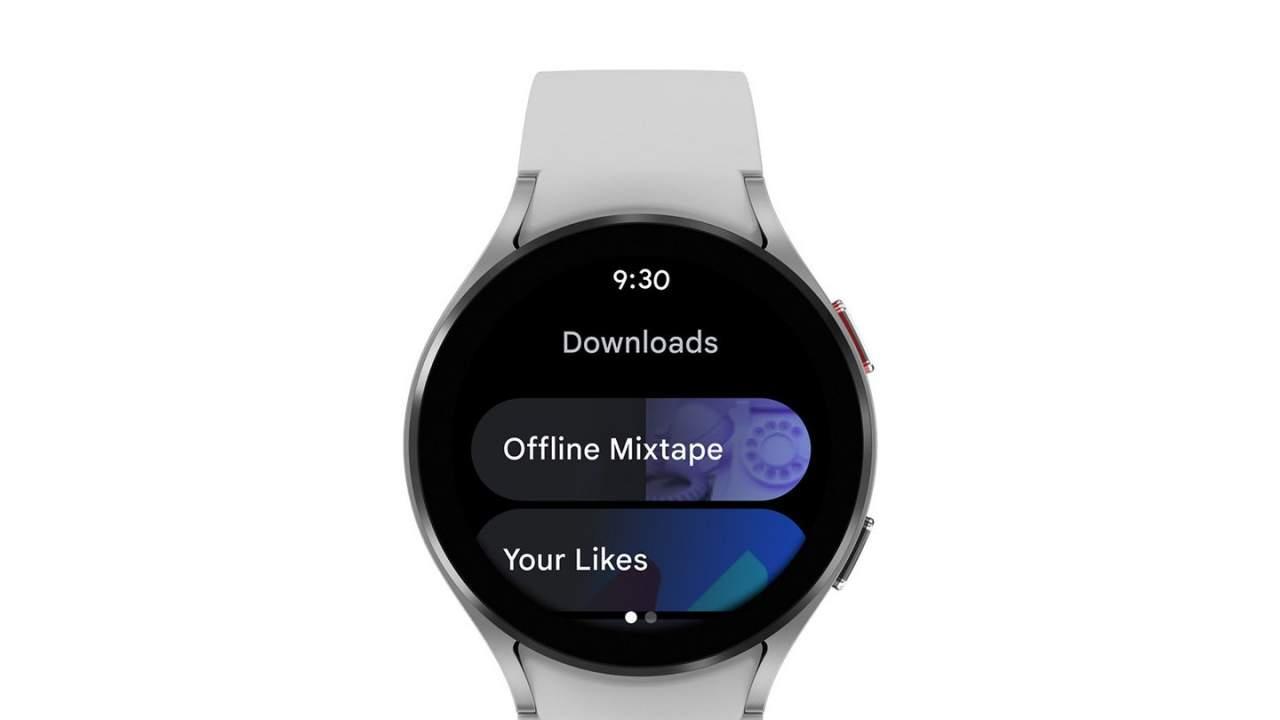 Wear OS YouTube Music app update enables offline music machines