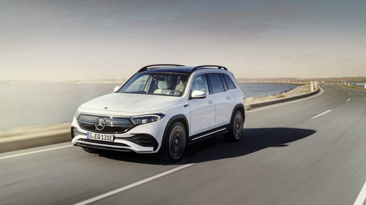 Mercedes EQB gives three-row SUV an all-electric makeover