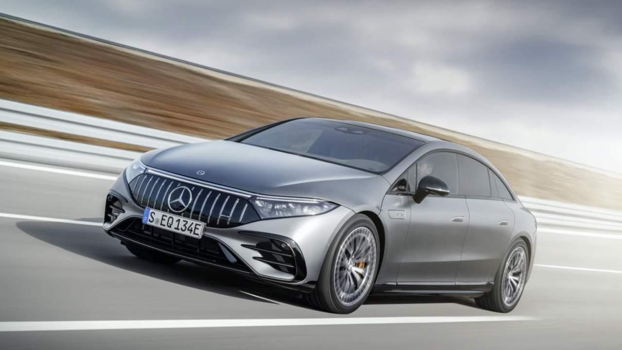 Mercedes-AMG EQS all-electric performance luxury sedan hits 751 horses
