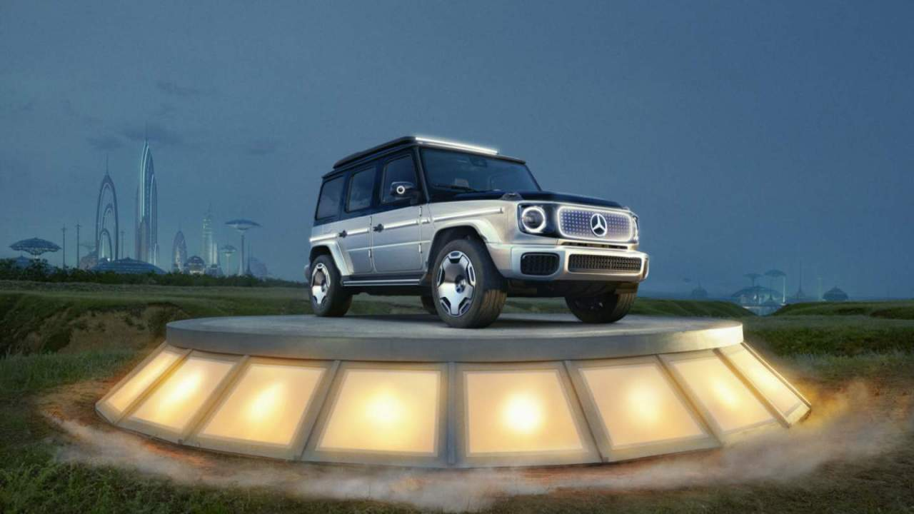 Concept EQG previews Mercedes' iconic G-Class finally going electric