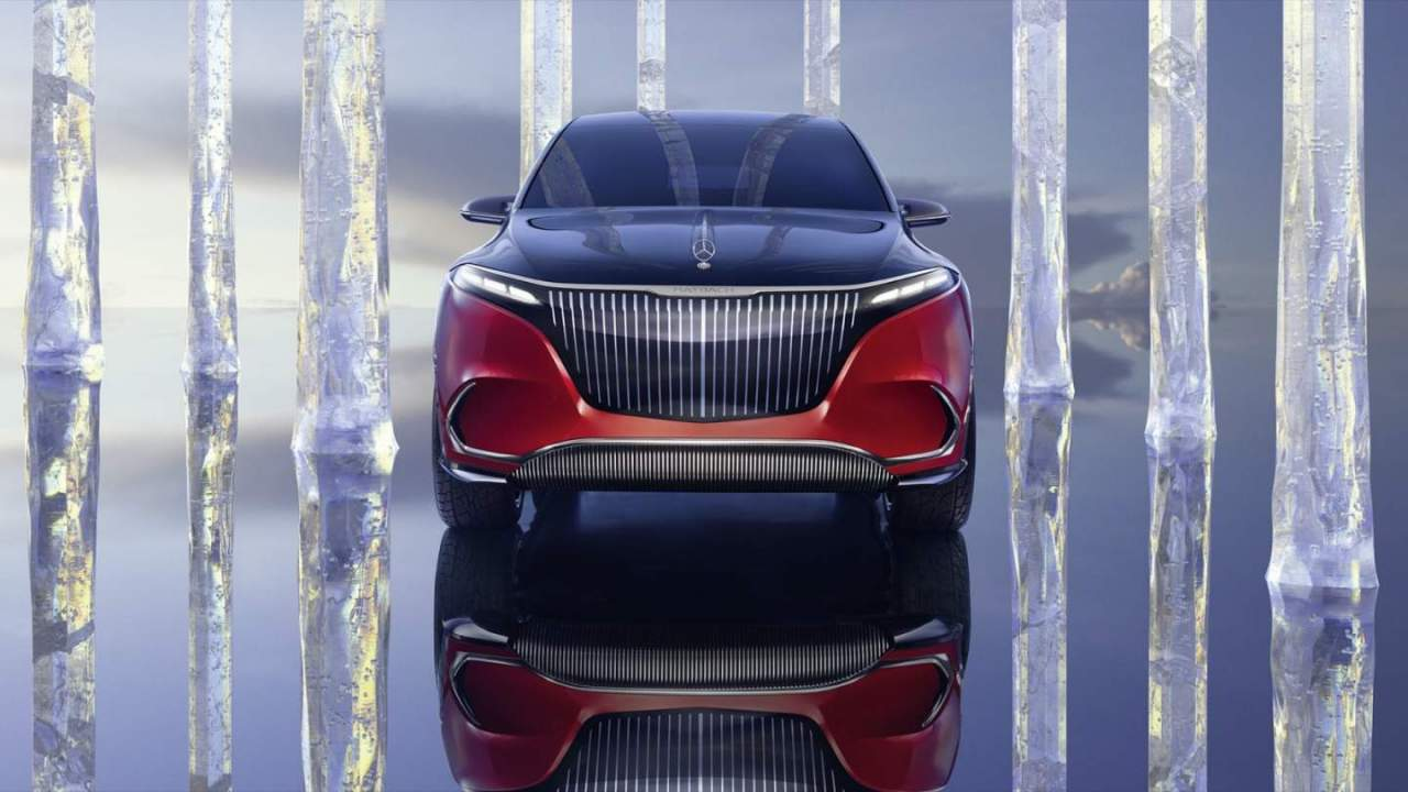 This Concept Mercedes-Maybach EQS pairs EV drive with German excess