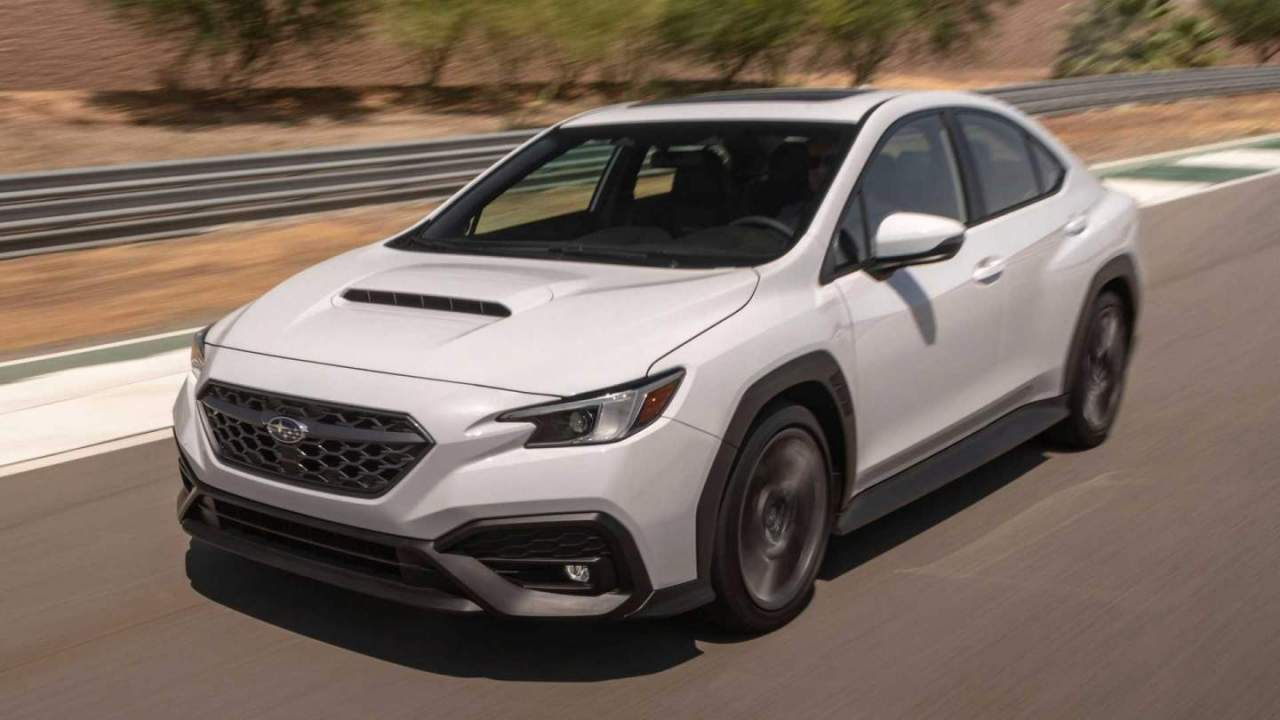 2022 Subaru WRX debuts with rugged body cladding and 2.4-liter turbo Boxer engine