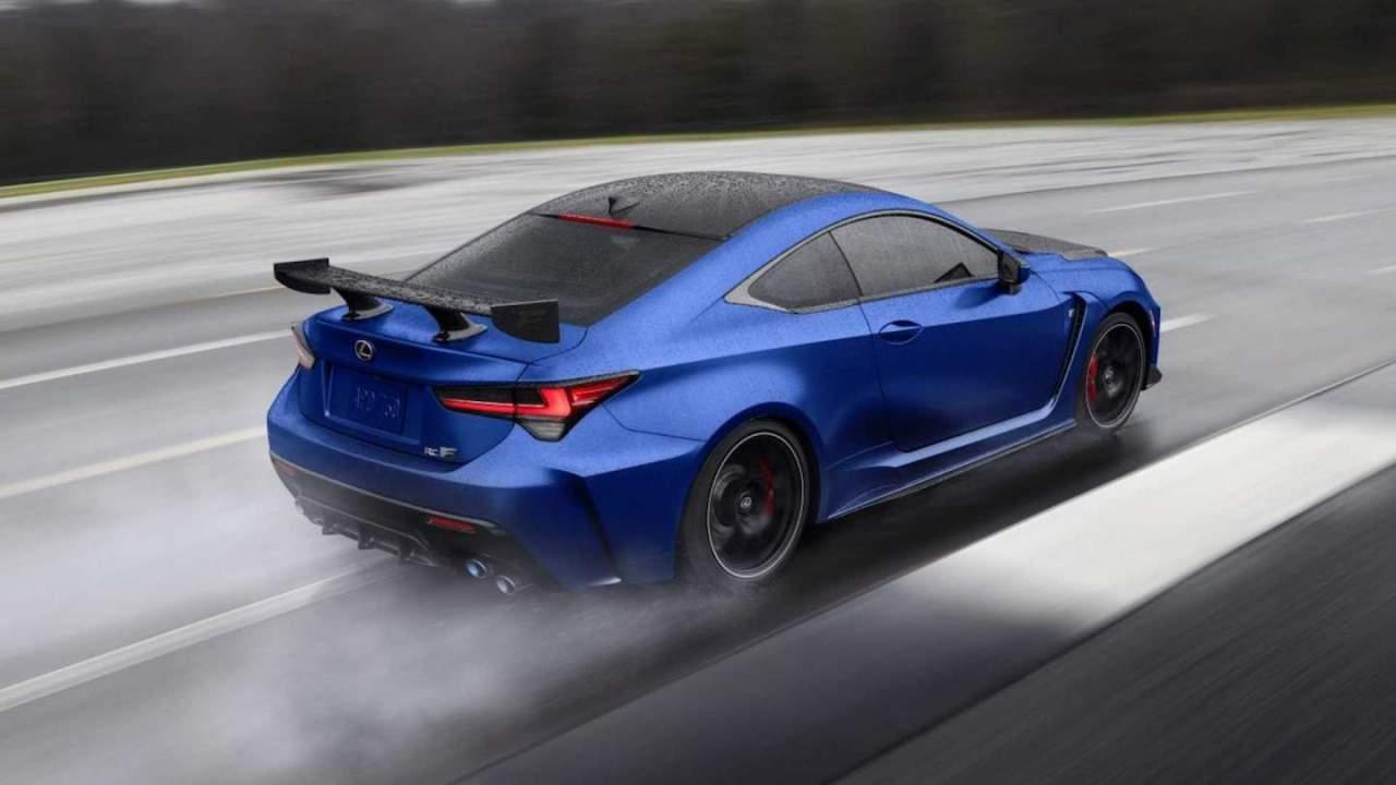 2022 Lexus RC F gets minor updates, Fuji Speedway Edition trim returns