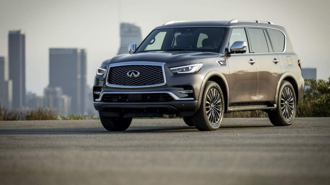 2022 Infiniti QX80 finally fixes the three-row luxe SUV's biggest flaw