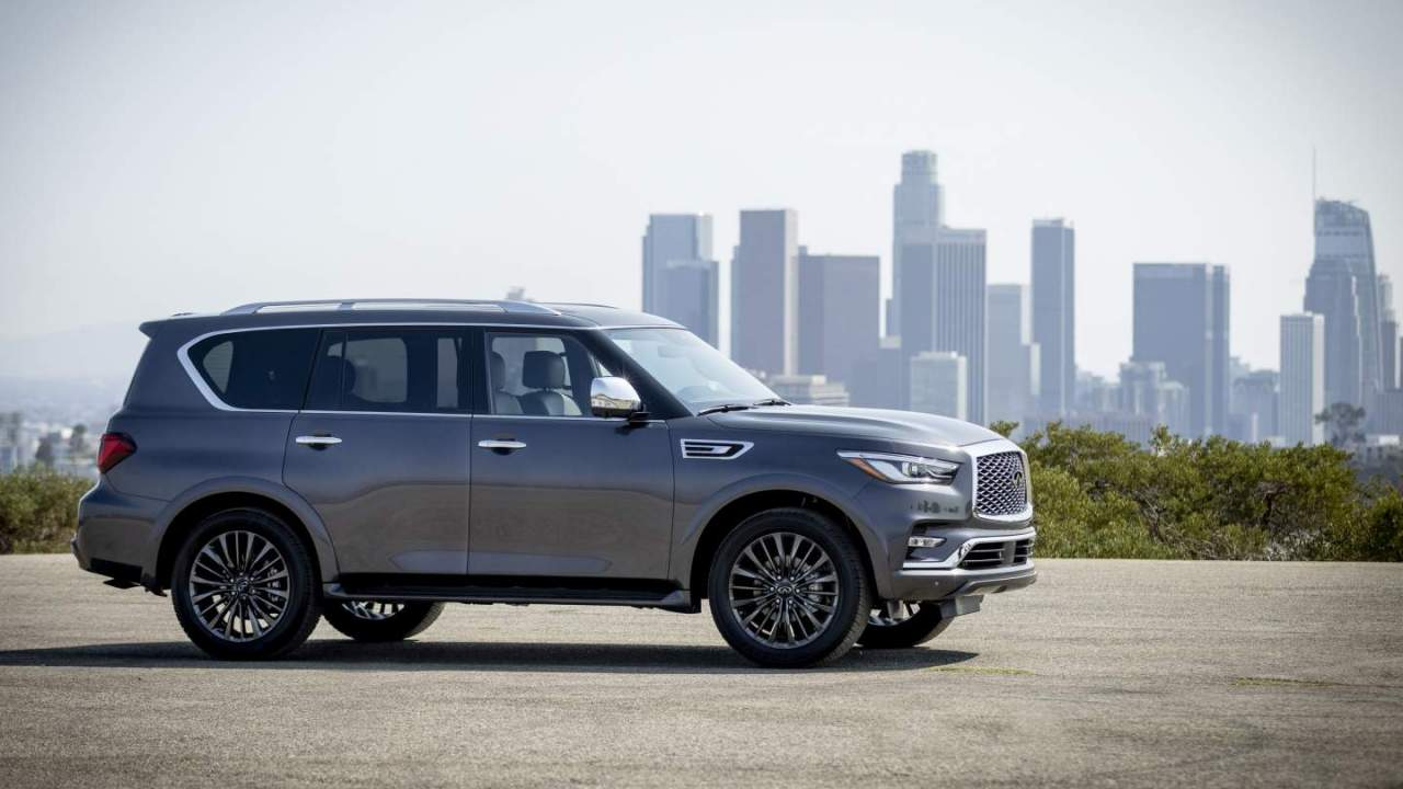 2022 Infiniti QX80 goes on sale this fall with a $70,600 base price