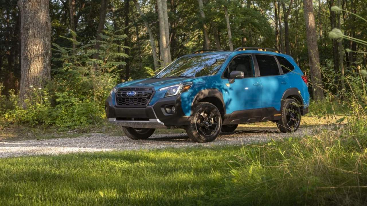 2022 Subaru Forester Wilderness gives SUV an off-road upgrade