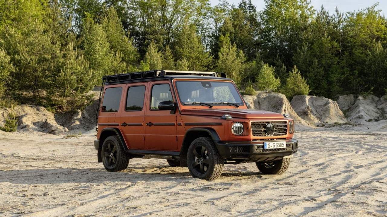 2022 Mercedes-Benz G-Class with Professional Line Exterior package is ready to hit the trails
