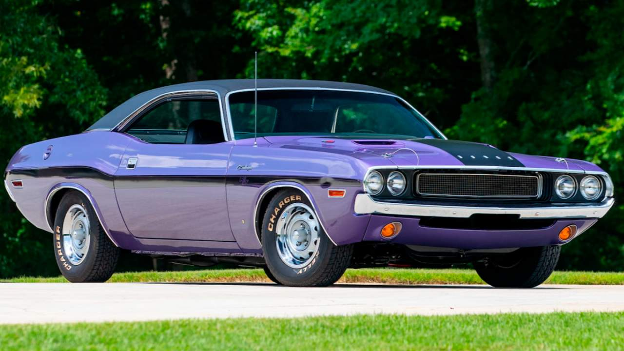 Plum Crazy 1970 Dodge Challenger R/T goes to auction