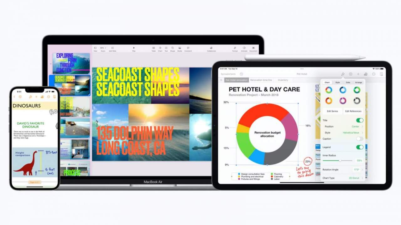 Apple's free iWork update has an unexpectedly high-tech feature