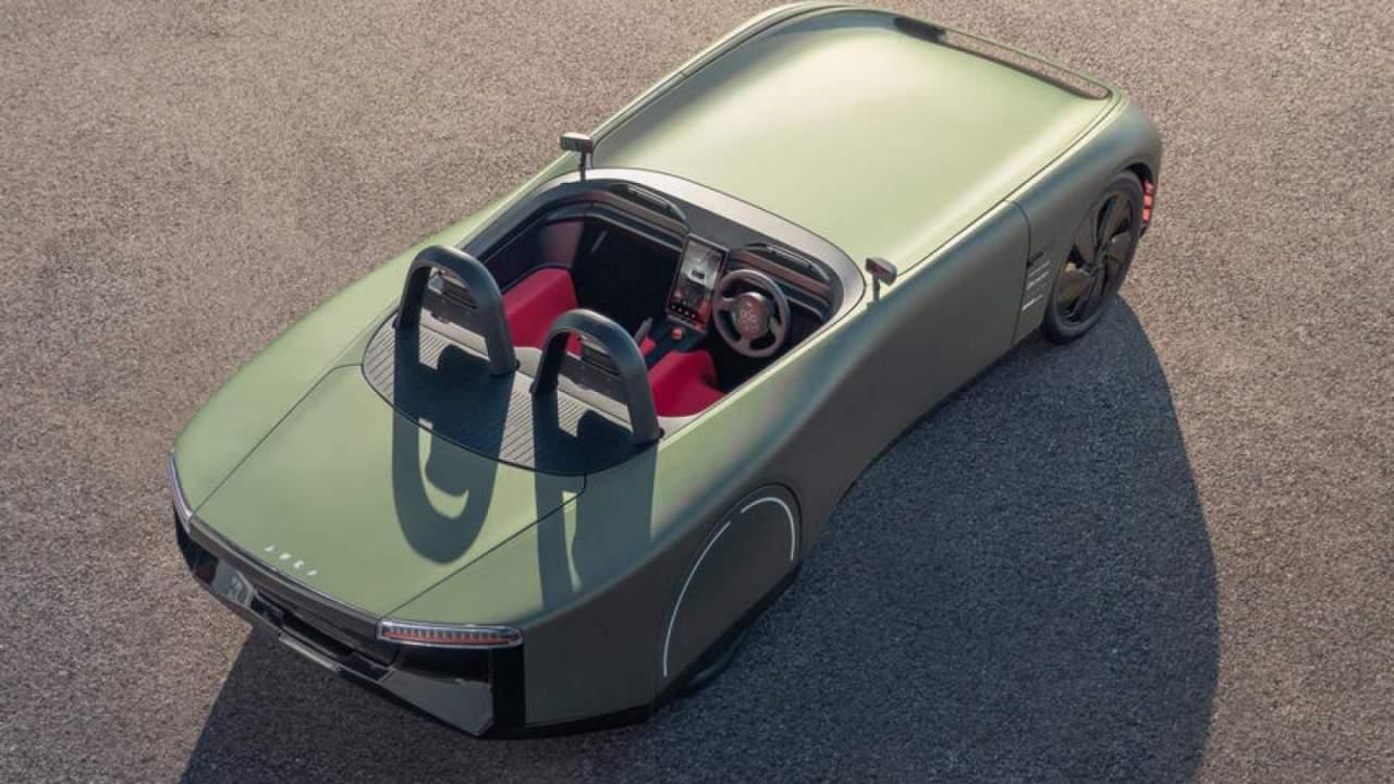 Aura EV Concept is a collaboration of brilliant British minds