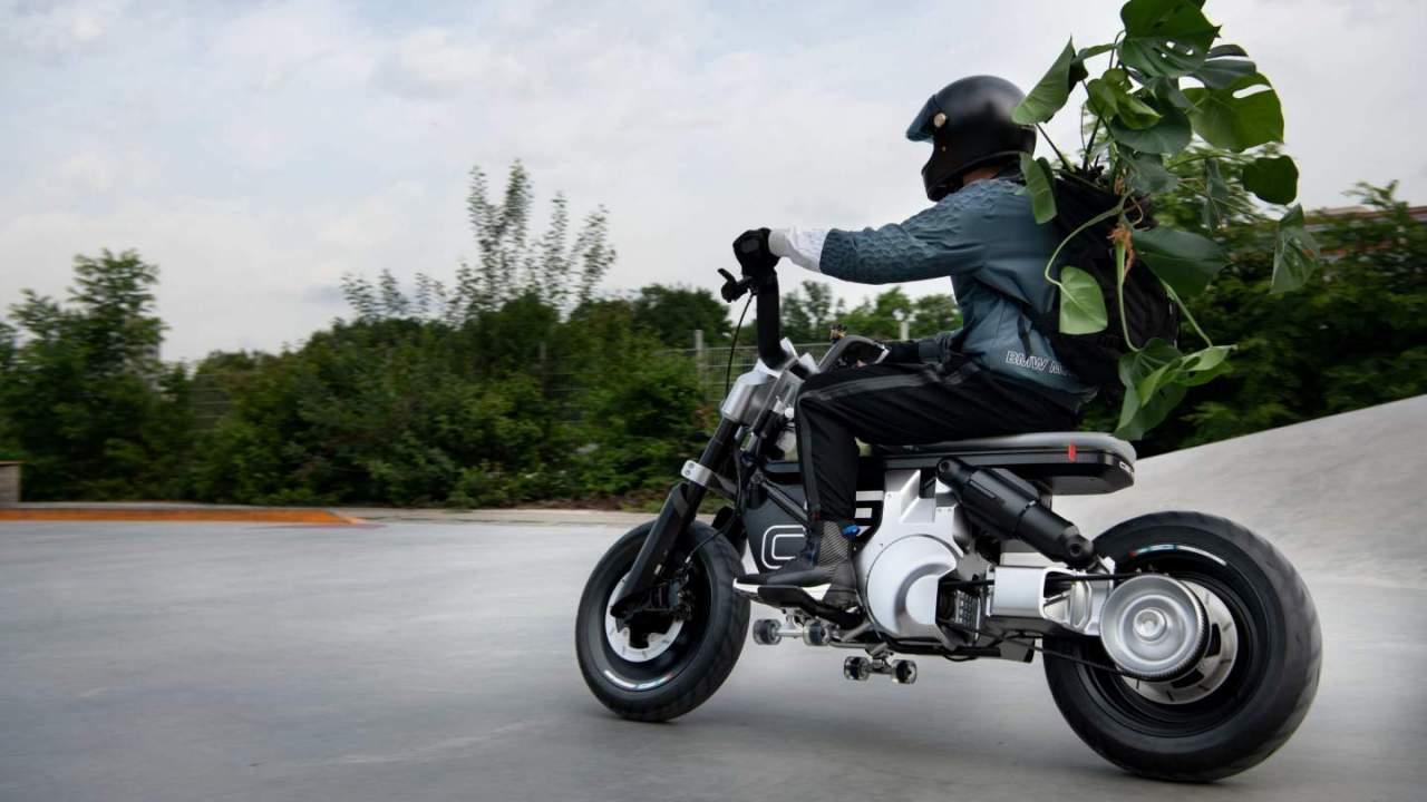 BMW Motorrad Concept CE 02 is a no-frills electric mini-bike